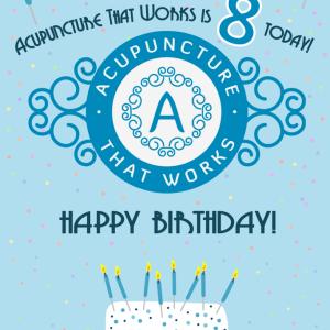 ATW fête ses huit ans aujourd'hui! | L'acupuncture qui fonctionne