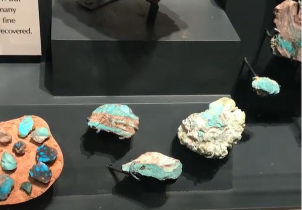 Spécimens Bisbee Turquoise