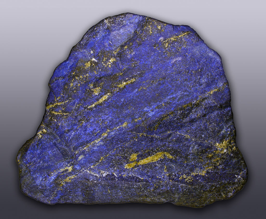 dalle de lapis lazuli
