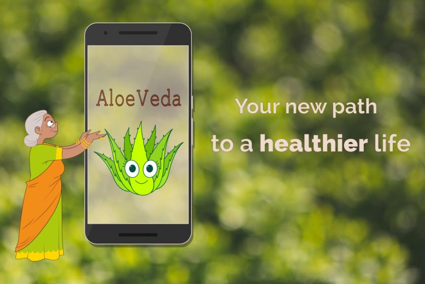 AloeVeda, l'application ayurvédique pour la santé et l'équilibre à long terme – Bientôt disponible