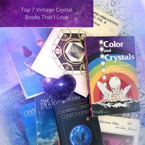 Top 7 des livres de cristal Vintage – Crystal Healing | Guérisseur de cristal | Thérapie de cristal | Guérisseur de cristal certifié