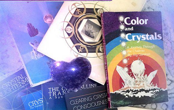 Top 7 des livres de cristal Vintage – Crystal Healing   Guérisseur de cristal   Thérapie de cristal   Guérisseur de cristal certifié