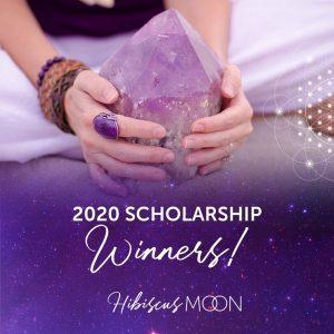 Annonce des lauréats de notre bourse de cours de guérisseur de cristal certifié 2020