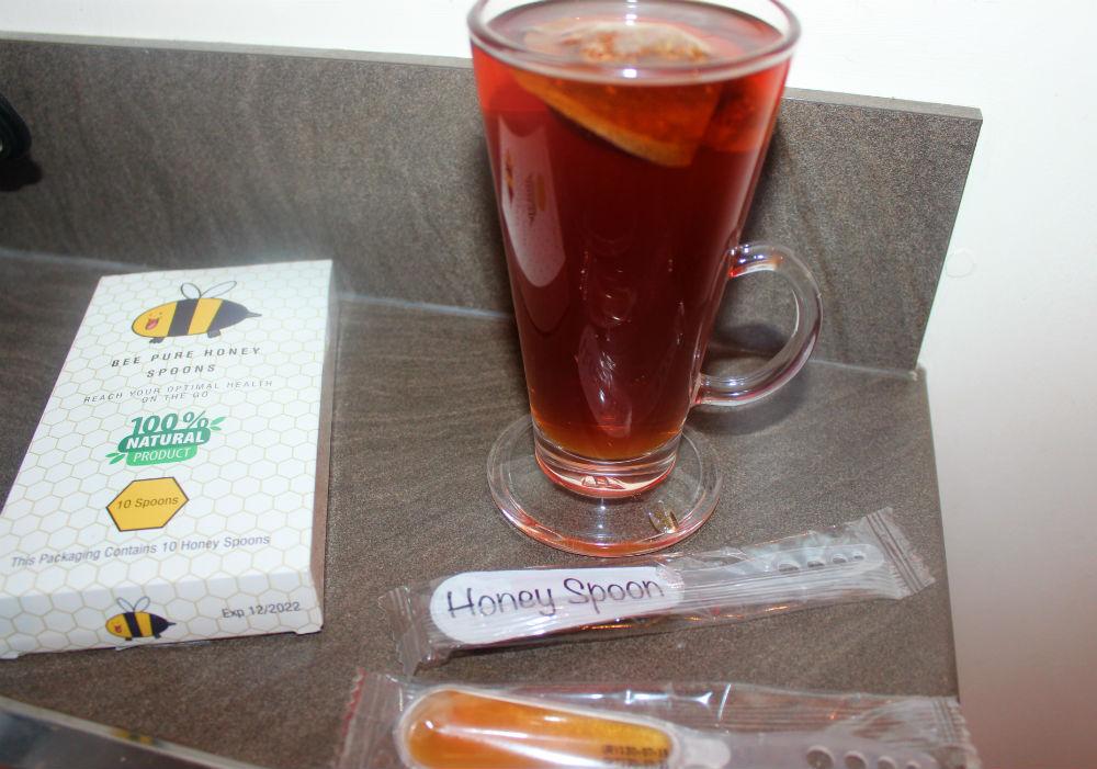 Cuillères à miel d'abeille Pure Rooibos Tea