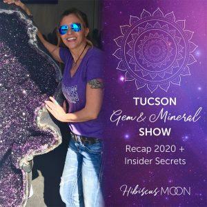 Récapitulatif du spectacle de gemmes et de minéraux Tucson 2020 + secrets d'initiés