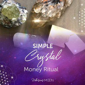 Rituel simple de l'argent en cristal