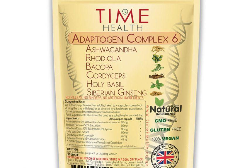Examen du complexe Time Health Adaptogen 6