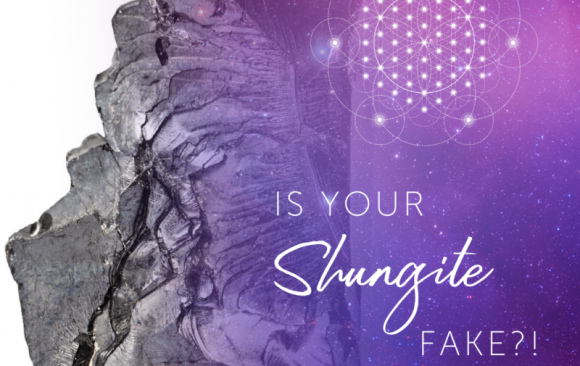 Votre shungite est-elle FAKE?!  – Académie de guérison des cristaux de lune Hibiscus