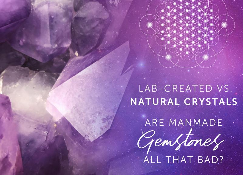 Cristaux créés en laboratoire et cristaux naturels |  Les pierres précieuses artificielles sont-elles si mauvaises?