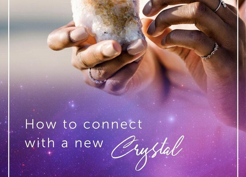 Comment se connecter avec un nouveau cristal