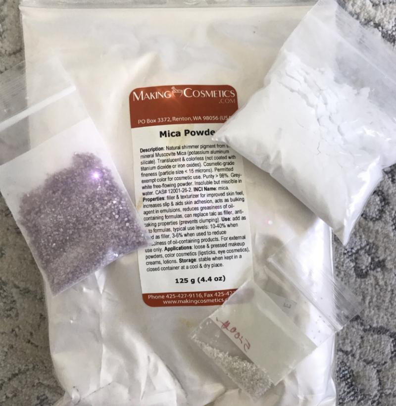 poudres de gemmes sacrées